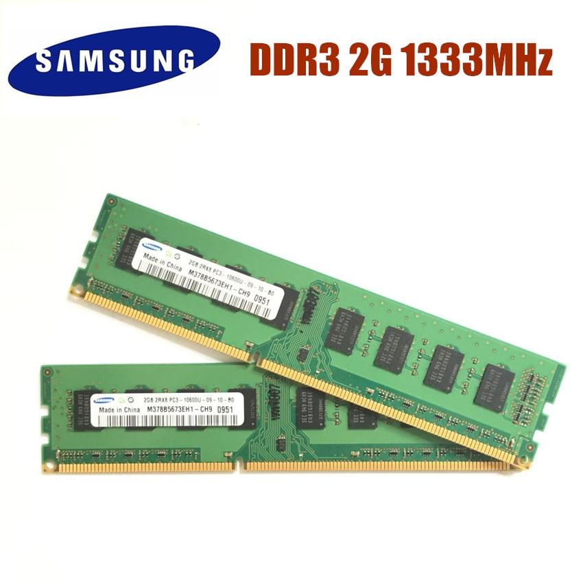 M378B5673EH1-CH9 Samsung 2gb DDR3 1333mhz PC3-10600U Desktop RAM Upgrade …