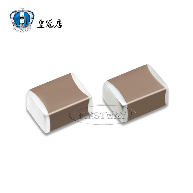 Piezoelectric capacitors 1210 10UF 50V 106K X7R 10% of the ceramic polarity