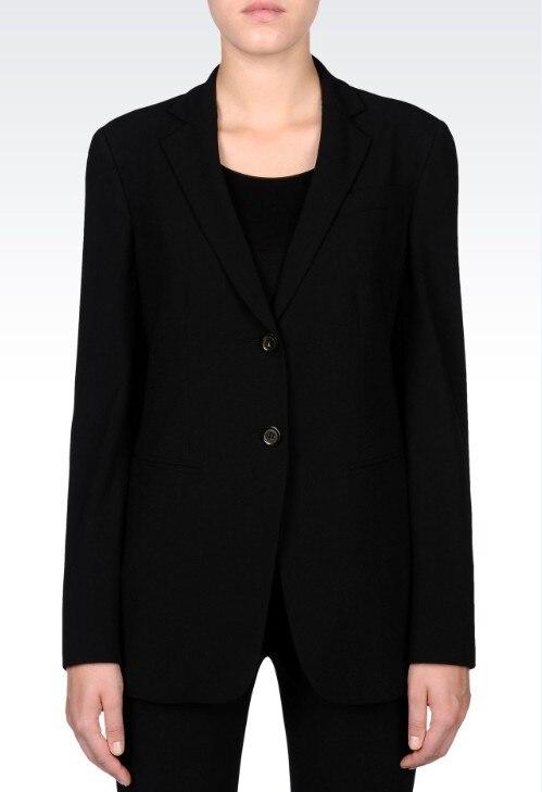 2015 Nach Maß Frauen Professionelle Arbeitskleidung Hosen Weibliche Ol Business Schwarz Uniformen Anzüge Diversifiziert In Der Verpackung