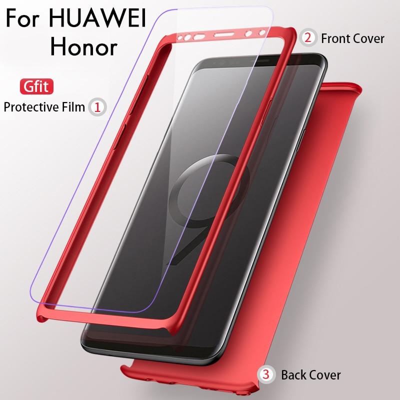 360 Case for Huawei on Honor 7A 6C Pro 7C 7X 6A 9 10 P Smart a0ad81af94d2