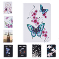Don't touch me Pattern PU Leather Case With Card Slots For Apple iPad Air 2 Case Folio Stand Protector Skin For iPad 6 Cover
