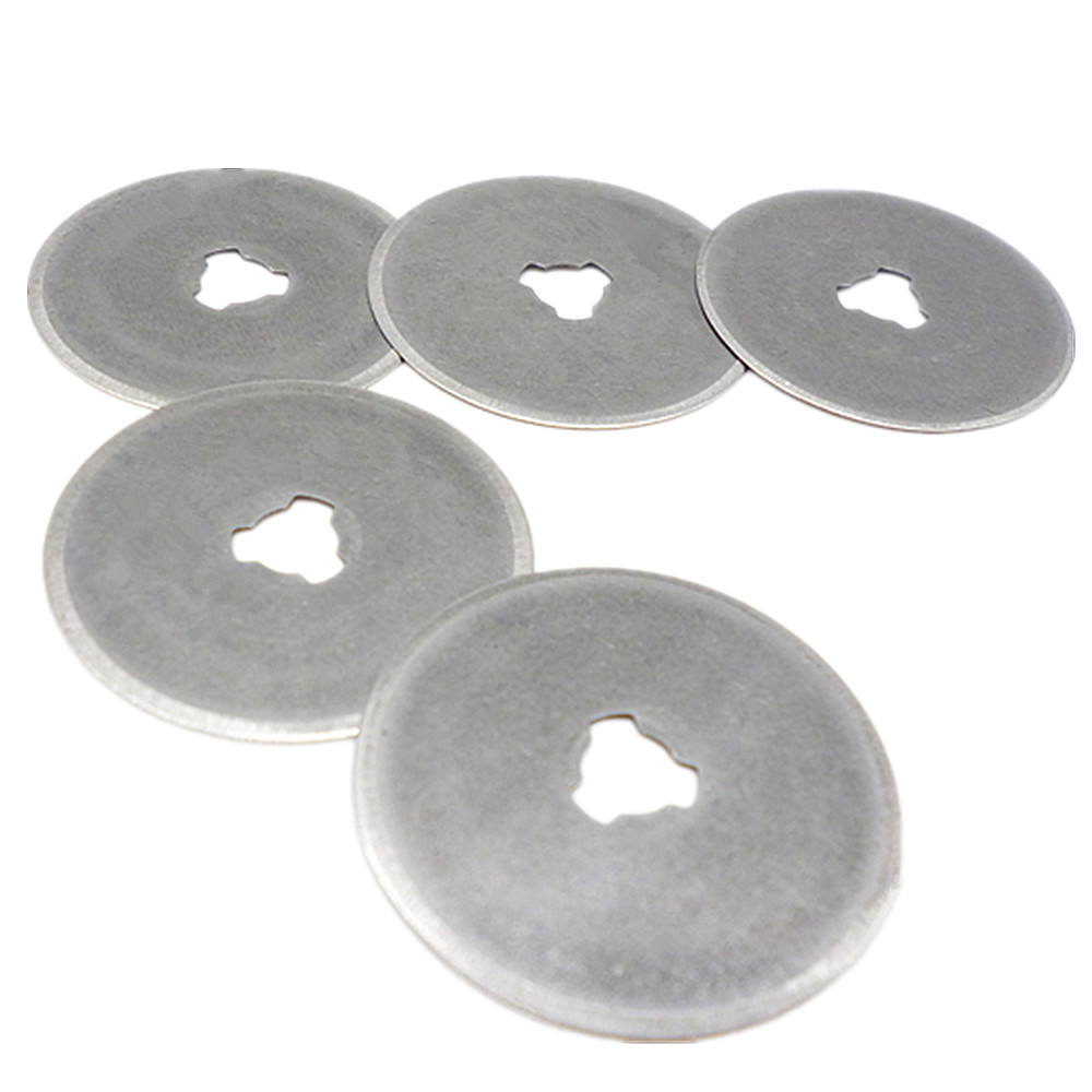 5pc Rotary Cutter Blades 28mm Hobby Craft DIY Tool Knife Cutter Blade Cutting Mat Quilting Paper Leather Fabric For Olfa Fiskars
