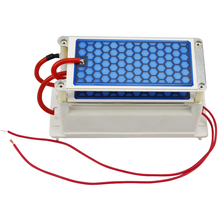 New Portable Ceramic Ozone Generator 220V/110V 10g Double Integrated Long Life Ceramic Plate Ozonizer Air and Water Air Purifier