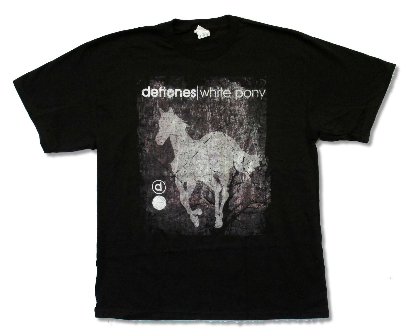 T shirt deftones white pony - Deftones White Pony Distressed Black T Shirt New Official Adult Men S High Quality Custom Printed Tops Hipster Tees T Shirt