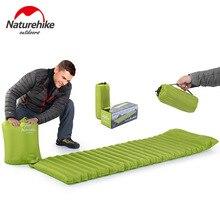Naturehike сверхлегкий открытый надувной матрас влагостойкий надувной коврик подушка с тпу кемпинг кровать палатка кемпинг коврик
