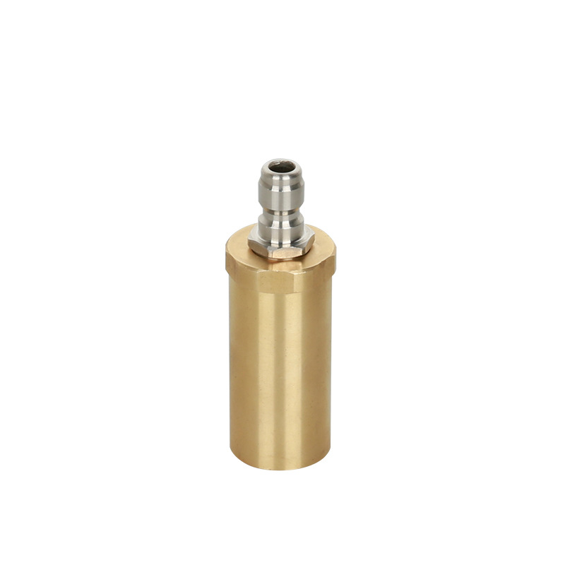 High pressure pure copper rotary nozzle 3600PSI domestic 360 degree ceramic spool wash nozzle-in Water Gun & Snow Foam Lance from Automobiles & Motorcycles