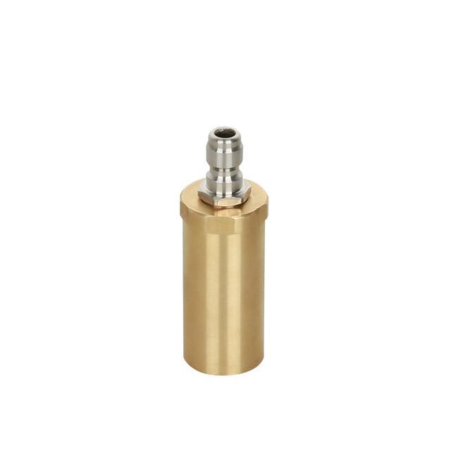 High pressure pure copper rotary nozzle 3600PSI domestic 360 degree ceramic spool wash nozzle
