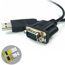 Win8 10 Android Mac Pl2303ra Usb RS232 Serial DB9M Adaptor USB DB9 Vcp COM Adaptor PL2303(China)