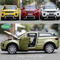 1:32 Игрушечный Автомобиль Range Rover Модель Автомобиля Металлический Сплав Diecasts & Toy Транспорт Модель Вытяните Назад Электрический Автомобиль Toys For дети