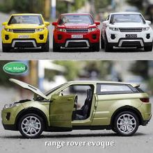 1 32 Toy Car Range Rover Car Model Metal Alloy Diecasts Toy Vehicles Model Pull Back