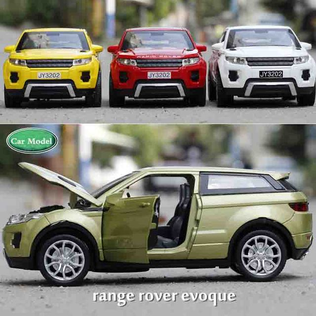 1 32 Toy Car Range Rover Car Model Metal Alloy Diecasts Toy