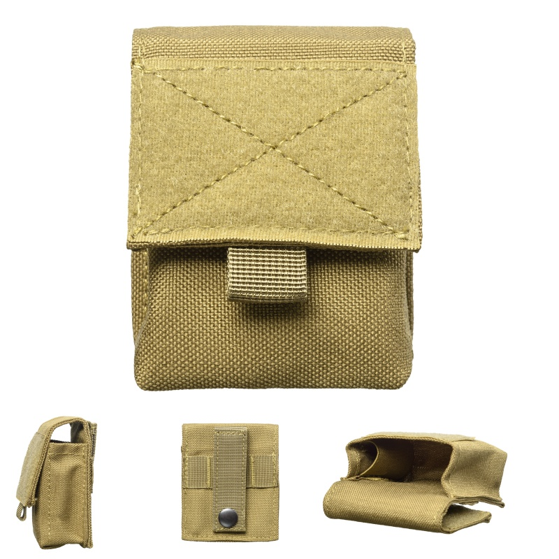 2018 New Military Molle Pouch Tactical Single Pistol Magazine Pouch Knife Flashlight Sheath Airsoft Hunting Ammo Camo Bags