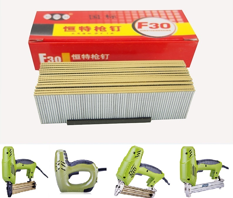 Eletric Nails Staple Gun Nails F10 F15 F20 F25 F30 410 413 416 419 422 1008 1010 1013 1022