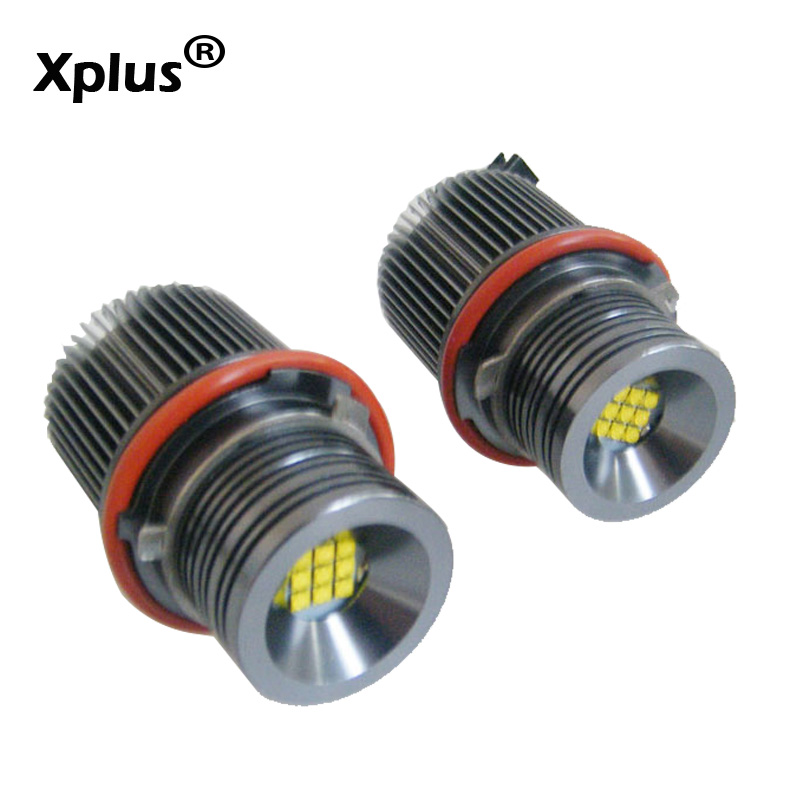 Xplus 45W E39 E53 E60 E61 E63 E65 E66 E87 Cree Chips Lamp LED For Angel Eyes Marker Bulbs for BMW 5 6 7 Series X3 X5 LED Marker бра idlamp alda 841 1a whitechrome