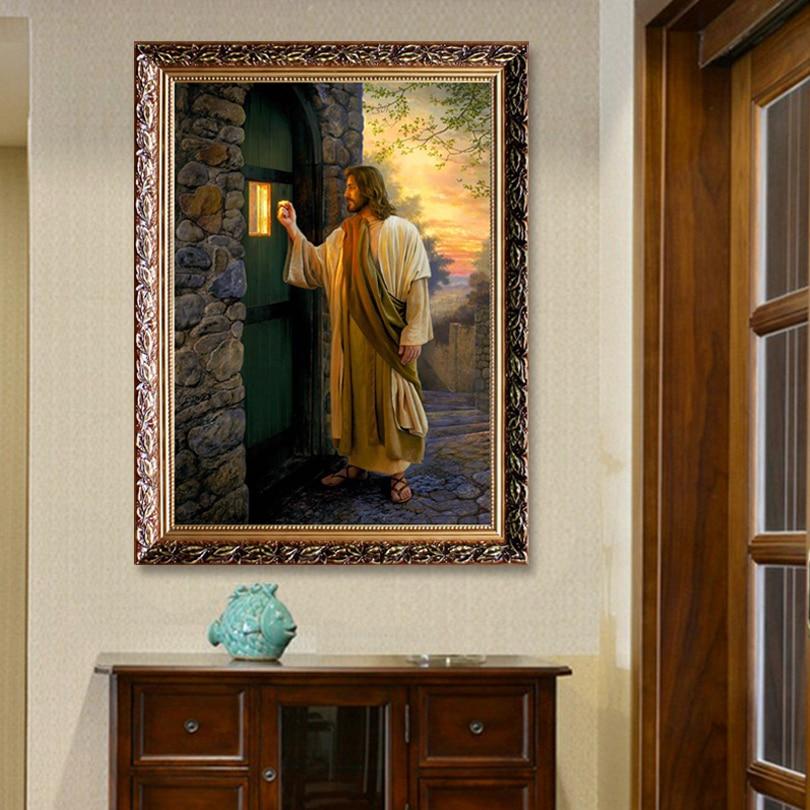 Иса Крис кенепті басып шығару - Үйдің декоры - фото 4