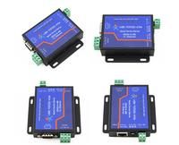 4pcs USR TCP232 410S Terminal Power Supply RS232 RS485 to TCP/IP Converter Serial Ethernet Serial Device Server