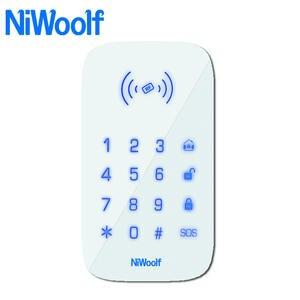 Wireless-Keyboard Alarm-System Rfid-Card 433mhz for W2b/wifi GSM