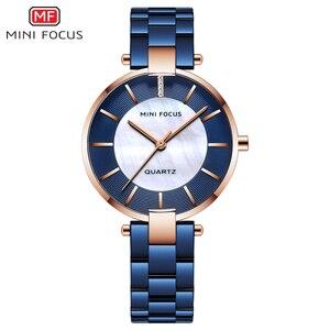 Image 1 - MINI FOCUS zegarki damskie zegarek kwarcowy Lady Dress zegarki damskie marki Luxury Fashion zegarki damskie Relogio Feminino