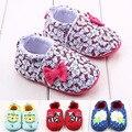 Zapatos del Pesebre del bebé Lindo de la Historieta de Los Animales Recién Nacidos Andaderas Home Calzado de Invierno Cálido suave prewalker zapatos de Bebé Zapatillas de Deporte