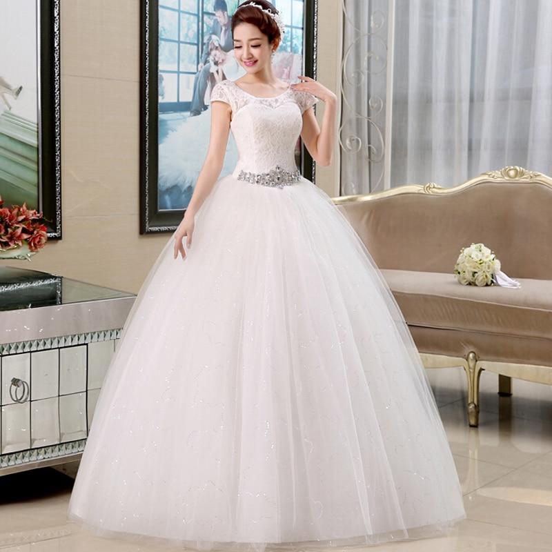 Lamya Wedding Dress 2017 Romantic Long Ball Gown Vintage Lace Wedding Dress Wedding Dress Lace Up Backless Vestido De Novia