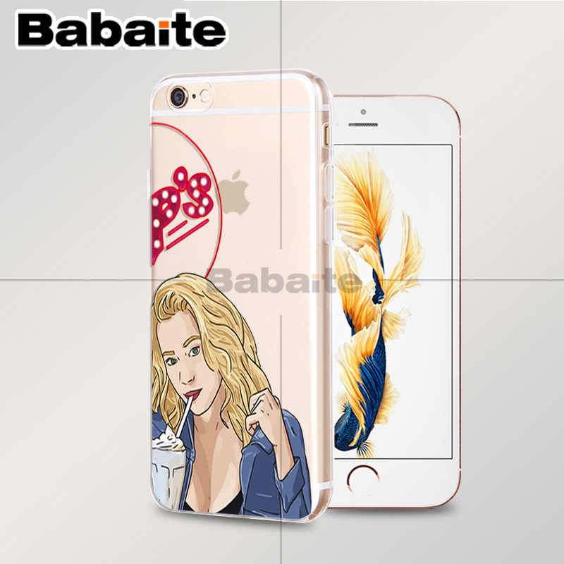 Babaite Riverdale South Side Serpent Betty and Veronica Friendship phone Case for Apple iPhone 8 7 6 6S Plus X XS max 5 5S SE XR