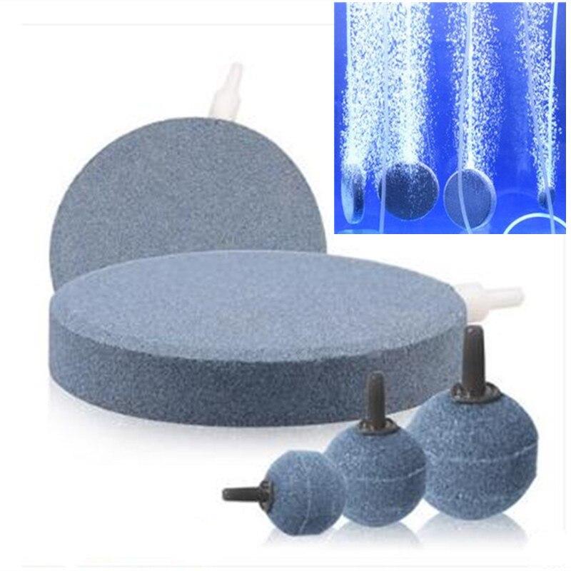 Pedra do ar difusor de ozônio para tratamento de água de ozônio tamanho diferente para sua escolha