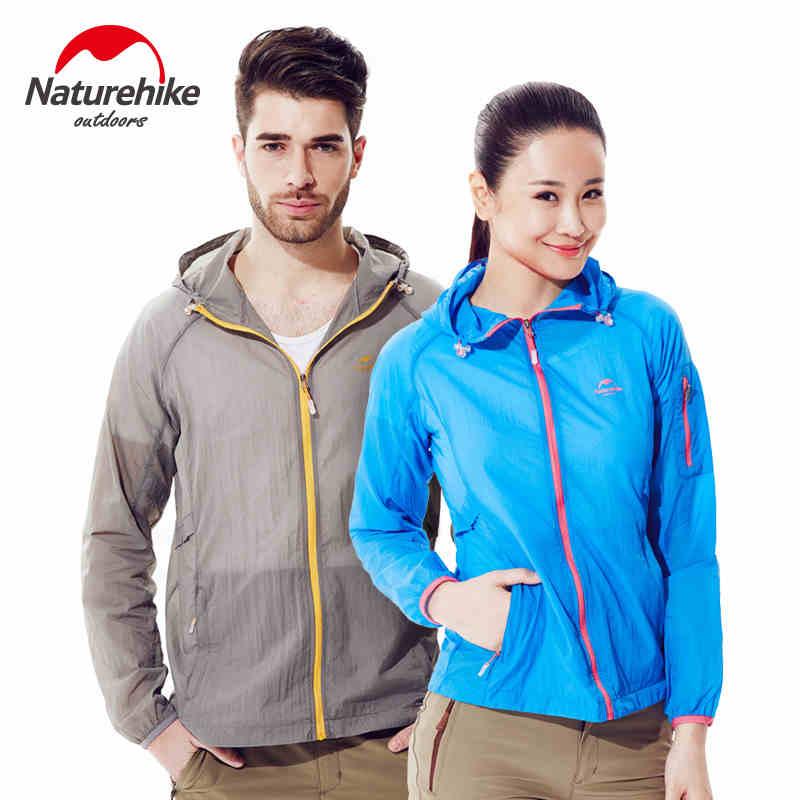 Naturehike Quick Dry Jacket Outdoor Unisex Anti-UV Sun-Protective Clothing Ultralight Waterproof Softshell Breathable Skin coat цены онлайн