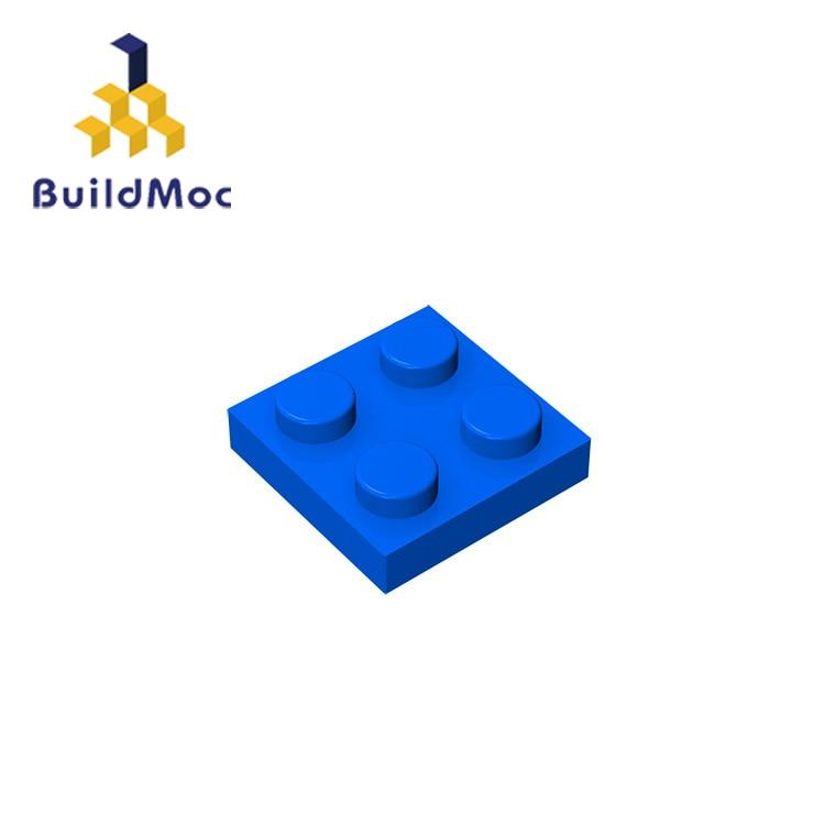 BuildMOC Compatible Assembles Particles 3022 2x2 For Building Blocks Parts DIY LOGO Educational Creative Gift Toys