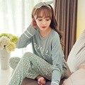 Feminino Pijama Pijama Mujer Primark Pigiama Leche de Seda Pijamas de Las Mujeres Pijamas de Invierno Para Las Mujeres de Franela Invierno de Las Mujeres Conjuntos de Pijama