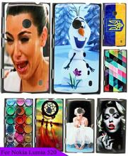 Hot Brand New Beauty Girl Crying Custom Painted Hard Transparent Back Cover Mobile Phone Case Fundas