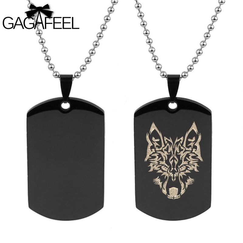 acheter authentique conception populaire rechercher le meilleur GAGAFFEL chien Tag collier personnalisé gravé collier pour ...