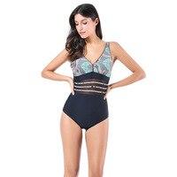 Swimwear One Piece Swimsuit Swimwear Female Departure Beach Bathing Suit Monokini Beachwear SwimSuits