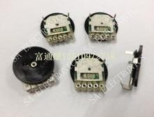 [BELLA]Taiwan Ukrainian nobility CTR pulley wheel dial adjustable volume potentiometer 14*1 double B1K B20K B50K B500R–100PCS