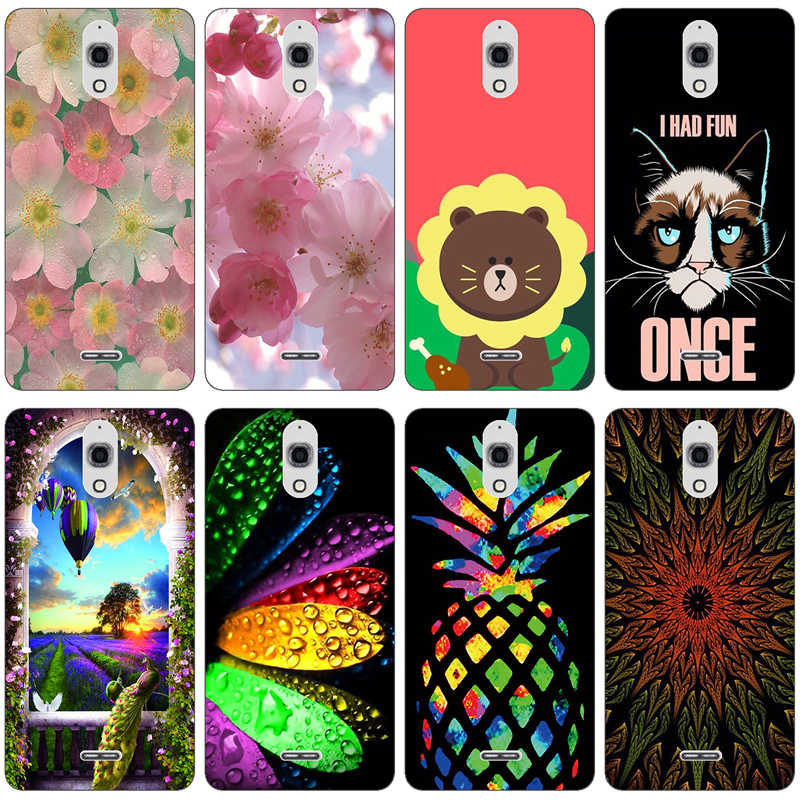 Чехол для телефона Alcatel OneTouch Pixi 4 (6) 3g OT-8050D Case Cat Сова Fundas для Alcatel 8050 OT8050 8050D 6,0 дюймов корпус