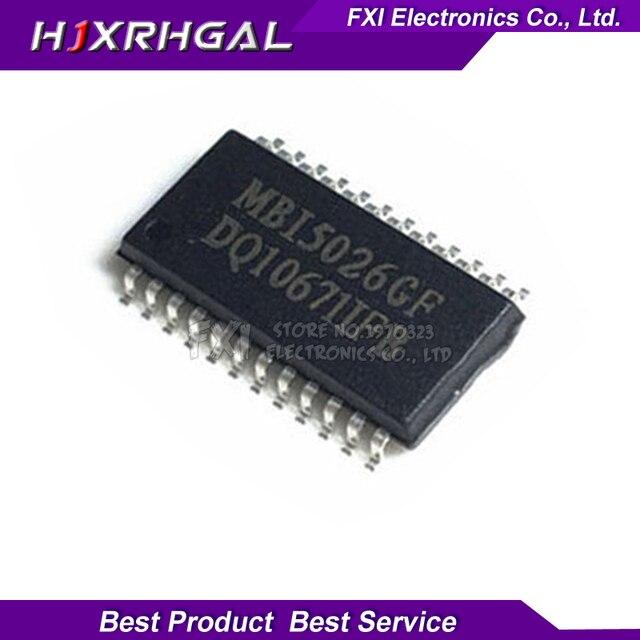 100pcs New original MBI5026GF MB15026GF MBI5026 SOP24 16 bit constant current LED driver chip
