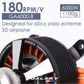 GA6000.8 Неподвижным Крылом Бесщеточный Двигатель ПОСТОЯННОГО ТОКА 50cc-60cc Бензиновый Двигатель 6000 Вт Высокая Мощность Двигателя Самолета