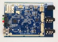 1 STÜCKE FREIES VERSCHIFFEN echtzeit 1CH Mini AHD XBOX DVR Platine bis zu (1280*720 P) 30fps unterstützung 128 GB sd-karte von asmile