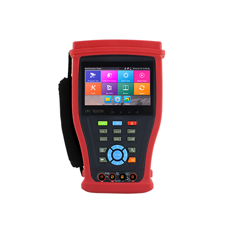 CCTV Tester Multi functions 8MP TVI/4MP CVI/5MP AHD wifi 4K H.265 IP HD coaxial Dahua, Hikvision, Axis etc ONVIF camera tester