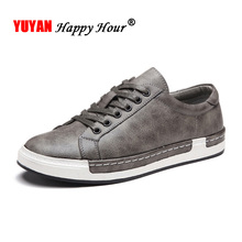 New Fashion Sneakers Men Shoes Brand Soft Leather Mens Casual