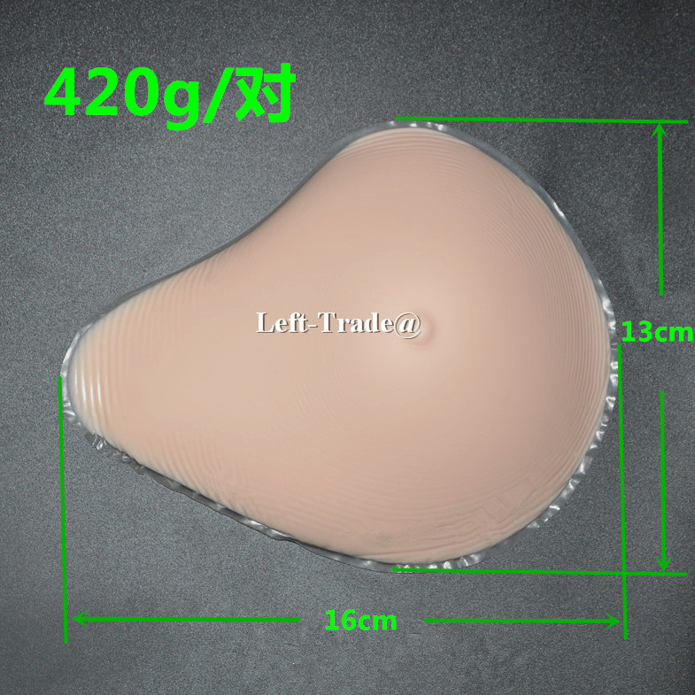 New Light Weight 32 C 36 B 38 A mastectomy bra inserts silicone breast prosthesis for small breasts woman купить