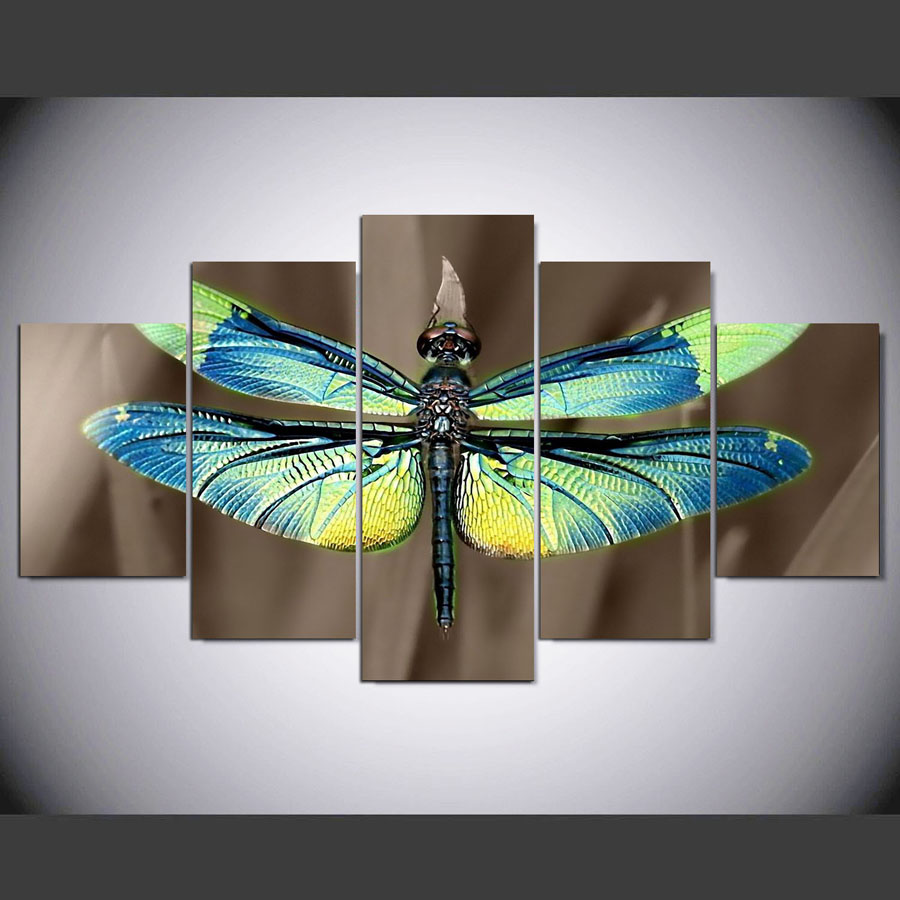 Dragonflies Wall Decor High Quality Dragonfly Canvas Buy Cheap Dragonfly Canvas Lots From