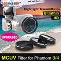Sunnylife MCUV Filter Glass Filter UV Filter Ultraviolet Filter for DJI Phantom 4/3 Standard/Professional/Advanced