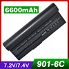 6 Cells Laptop Battery For Asus AL23 901 AP23 901 Eee PC 1000 1000H 1000HA 1000HD