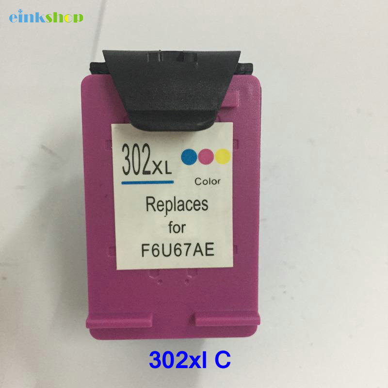 Einkshop saderīga tintes kasetnes nomaiņa HP 302 302xl Deskjet 2130 - Biroja elektronika
