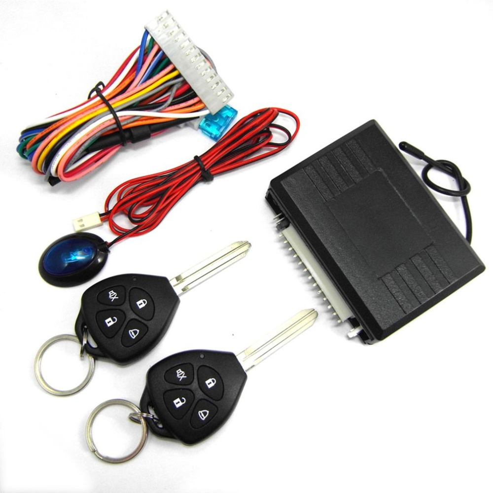 Automobiles & Motorcycles Central Keyless Door Lock Central Locking System With Car Remote Control Alarm Systems Remote Control Central Kit Locking Switch Controllers