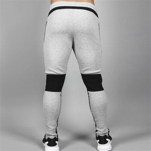 Image 5 - 2018 New Running Tights Men Joggers Compressed Pants Gym Mens Bodybuilding Pants Sports Skinny Legging Sportswear Long Trousers