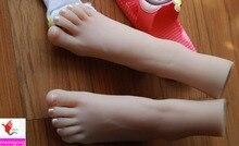 High end Фетиш Продукты, реалистичные Мягкие Кукла Секса Реальная Кожа Поддельные Ноги мужской мастурбации, фут Фетиш Игрушки, Реалистичного Женских Ног