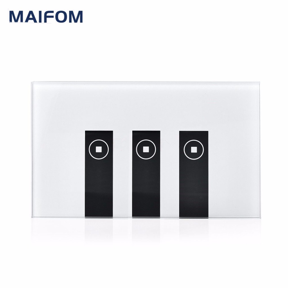 MAIFOM Wifi Remote Control Switch Glass Touch Panel Ewelink App