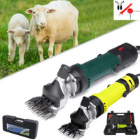 850W Electric Sheep Shearing Machine Clipper Animal Hair Supplies Goat Alpaca Farm Cut Machine Box Adjustable Speed US/EU Plug