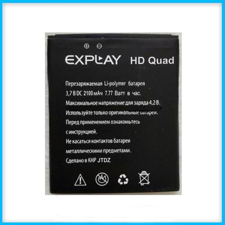 <font><b>Explay</b></font> <font><b>HD</b></font> Quad Батареи, высокое Качество Мобильного Телефона Замена Литий-Ионная Аккумуляторная 2100 мАч Аккумулятор для <font><b>Explay</b></font> <font><b>HD</b></font> Quad 3 Г Батареи